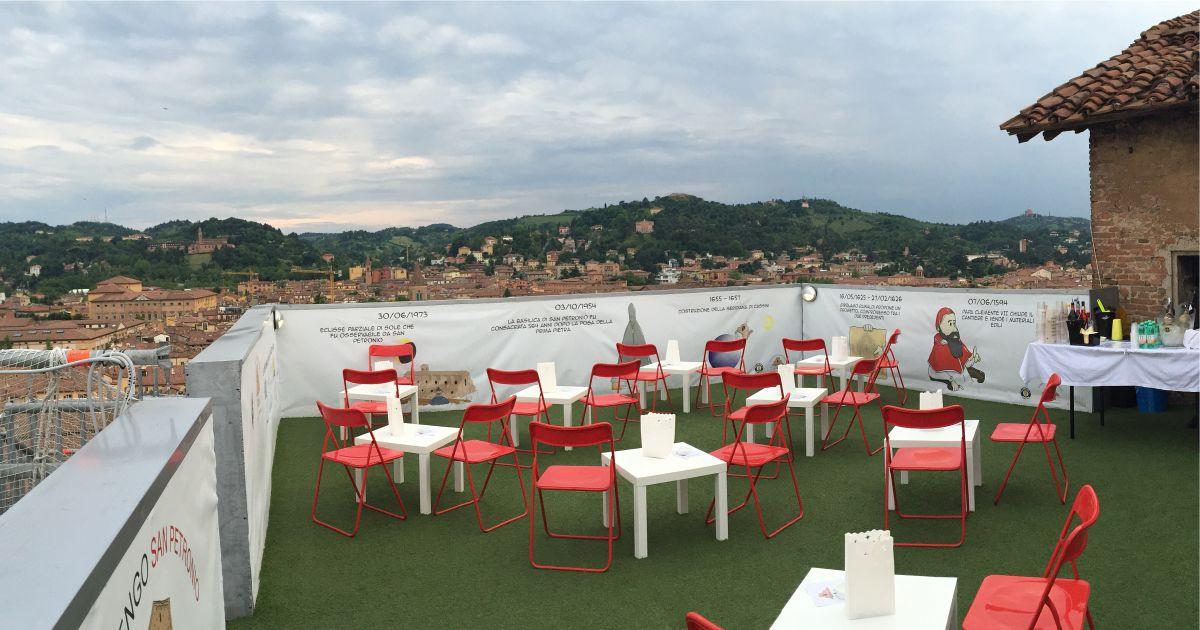 Succede solo a Bologna APS | Aperitivi in terrazza