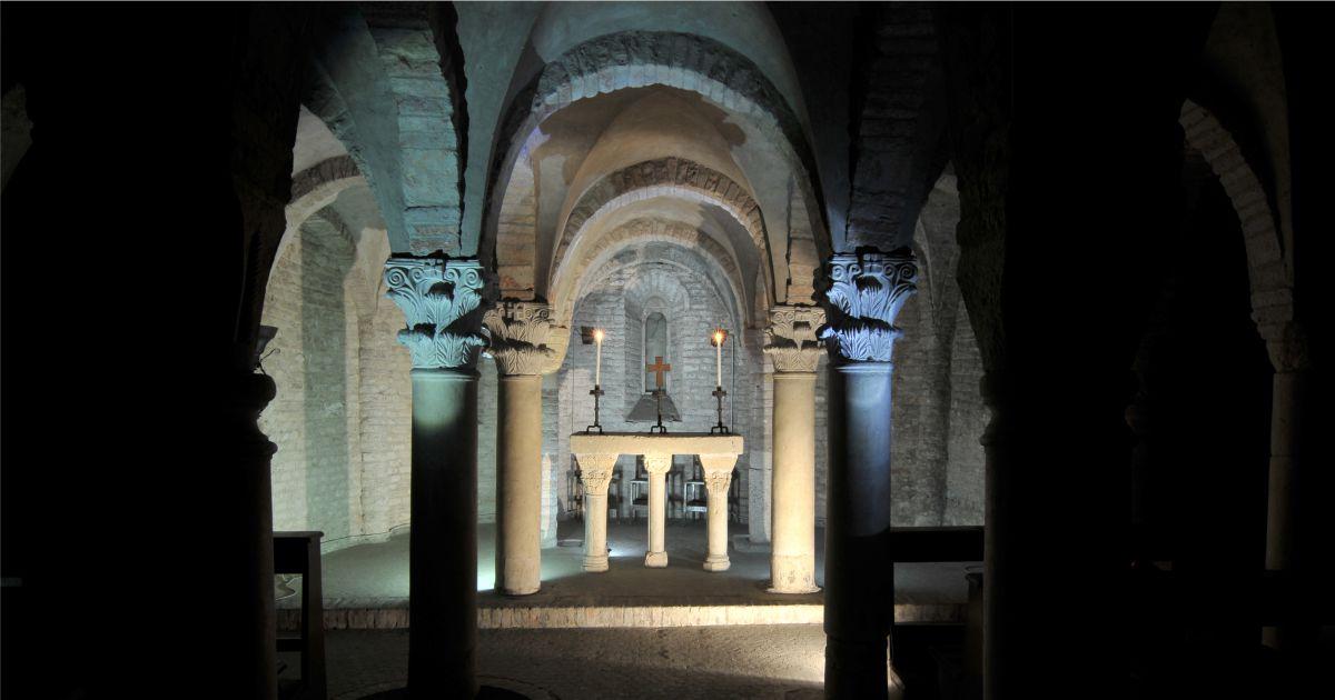 Succede solo a Bologna APS   Cripta di San Zama